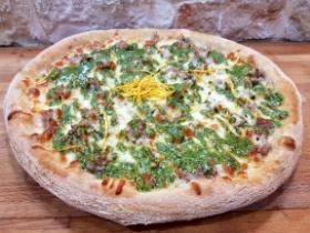 Pizza Nuvola Slow Food | Pesto di Pistacchio e Zeste di Arancio