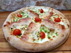 Pizza Nuvola Slow Food | Pistacchio di Bronde e Speck