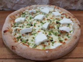 Pizza Nuvola Slow Food | Pistacchio di Bronde e Bufala Dop